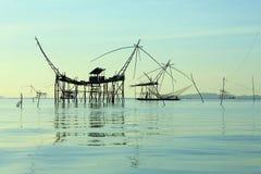 Thailand-Fischen lizenzfreie stockbilder