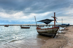 Thailand fisherman's boat Royalty Free Stock Photo