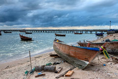 Thailand fisherman's life Stock Images