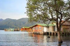 Thailand fishermans village Stock Photography