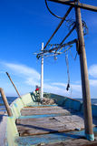 Thailand fishing boat Royalty Free Stock Images