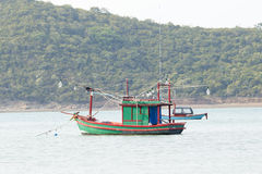 Thailand fishing boat Stock Photo