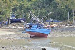 Thailand fishing boat Royalty Free Stock Image