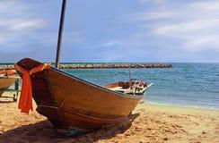 Thailand fiskebåt Fotografering för Bildbyråer