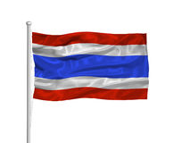 Thailand Flag 2 Stock Photos