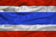 Thailand Flag 3 Royalty Free Stock Photos