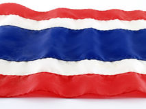 Thailand flag Stock Photography