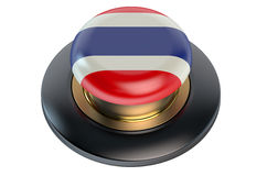 Thailand flag button Royalty Free Stock Photos