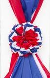 Thailand flag fabric ribbon Royalty Free Stock Photo