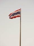 Thailand flag on a flagpole Royalty Free Stock Image