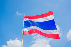 Thailand flag Royalty Free Stock Photography
