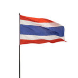 Thailand flag moving Stock Images