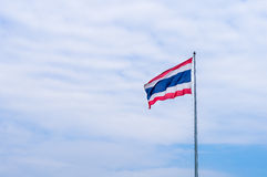 Thailand flag in pole Stock Image