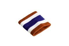 Thailand flag wristband Stock Images