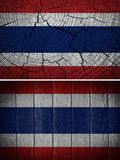 Thailand flagga Royaltyfri Fotografi