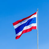 Thailand flagga Arkivbilder