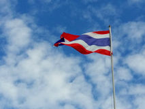Thailand flagga Royaltyfri Foto