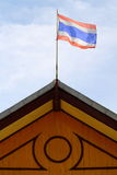 Thailand flagga Arkivfoto