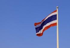 Thailand flagga Arkivbild