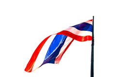 Thailand flagga Arkivfoton