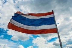 Thailand-Flagge stockfotos