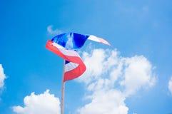 Thailand-Flagge stockbilder