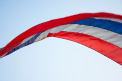 Thailand-Flagge Lizenzfreie Stockbilder