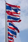 Thailand flags Stock Images