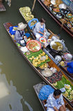 Thailand floating market Royalty Free Stock Images