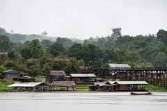 Thailand Floating Town Stock Image