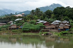 Thailand Floating Town Royalty Free Stock Photo