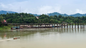 Thailand Floating Town Royalty Free Stock Images