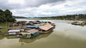 Thailand Floating Town Royalty Free Stock Photos