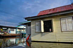 Thailand flooding Royalty Free Stock Photography