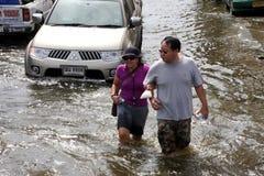 Thailand Floods Stock Photography