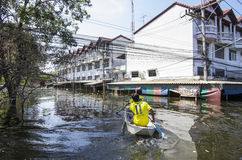 2011 Thailand floods Royalty Free Stock Photo