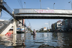2011 Thailand floods Royalty Free Stock Photography