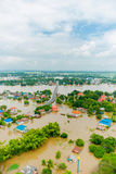 Thailand floods Stock Photography