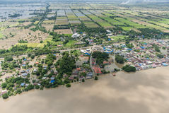 Thailand floods, Natural Disaster Royalty Free Stock Image