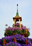Thailand flower festival Stock Images