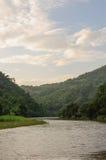 Thailand-Fluss lizenzfreie stockbilder