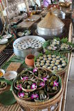Thailand food market Royalty Free Stock Image