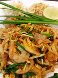 Thailand food Pad Thai. A special food of thailand Pad Thai Stock Photography