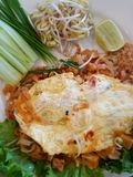 Thailand food Pad thai. Thai special food pad thai with egg Royalty Free Stock Photography