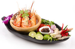 Thailand food Tom Yum Kung. Stock Photography