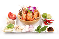 Thailand food Tom Yum Kung Stock Image