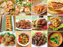 Thailand food variety Royalty Free Stock Image