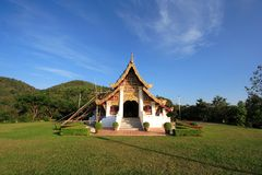 Thailand forntida arkitektur Arkivbild