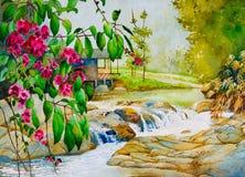 Thailand-Frühling stockfoto