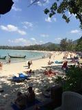 Thailand freedom Beach. On the Beach on phuket Stock Images
